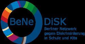 Logo des Berliner Netzwerk gegen Diskriminierung in Schulen und Kita